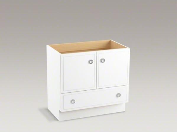 Kohler Jacquard Tm 36 Vanity With Toe Kick 2 Doors And 1 Drawer Contemporary Bathroom