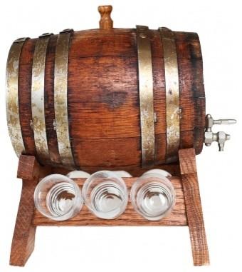 vintage oak whisky barrel rustic home decor
