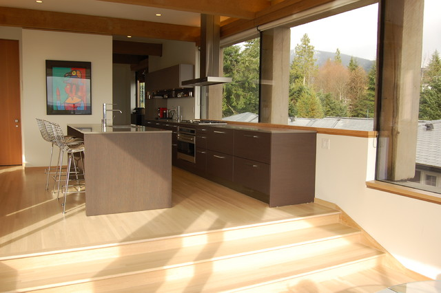 West Vancouver Renovation Contemporary Kitchen Vancouver By Fiona Sinclair Design Studio