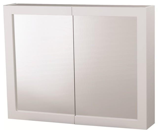 Siena 2 Door Large Bathroom Cabinet Contemporary Medicine Cabinets By B