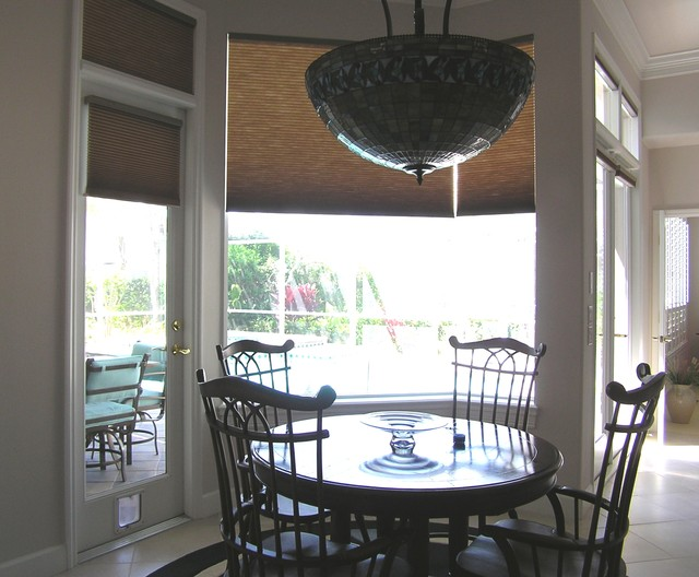 Motorized Honeycomb Shades Transitional Tampa By
