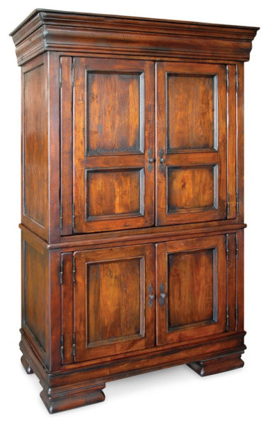 Toilette Moderne Photos : Royalty Solid Wood Bedroom Armoire  Traditional