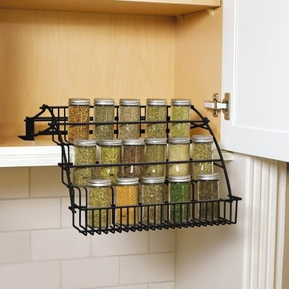 Rubbermaid Pull-Down Cabinet Spice Rack - Contemporary - by Target
