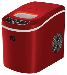 Igloo Compact Ice Maker, Red - Ice Makers - by Diddly Deals