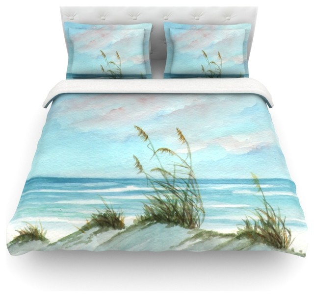 Rosie Brown Sea Oats Cotton Duvet Cover Twin 68 X88