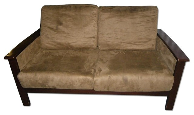 Ikea Microsuede Sofa Sofas New York By Aptdeco