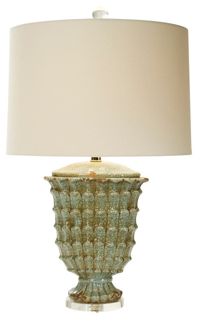 Jadeite Retreat Lamp - Rustic - Table Lamps