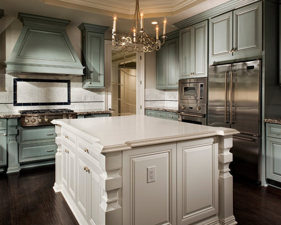 Blue Green Cabinets Home Design Ideas, Pictures, Remodel and Decor