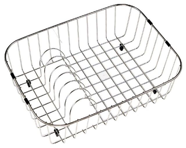 Houzer Dish Racks Wirecraft  In Rinsing Basket Rb  Contemporary