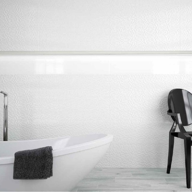 White Gloss Wall Floor Tile: Next Large White Tiles