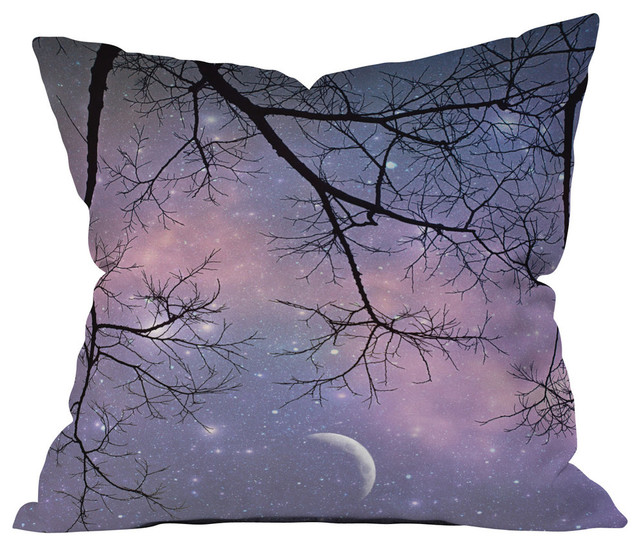 DENY Designs Shannon Clark Twinkle Twinkle Outdoor Throw Pillow, 18x18x5 - Contemporary ...