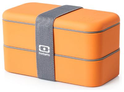 MB Original Bento Box, Orange contemporary-food-containers-and-storage
