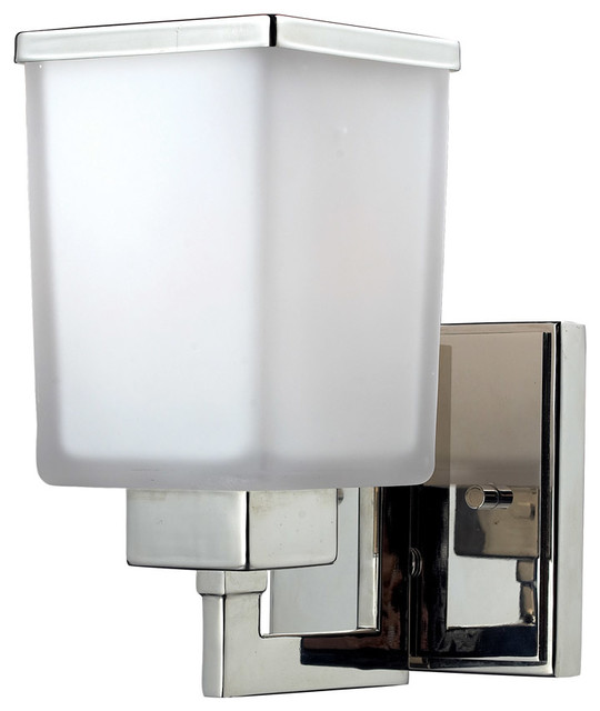 Transitional Chrome Wall Sconces : Z-Lite 602-1S Affinia 1 Light Wall Sconces in Chrome - Transitional - Wall Lighting - by ...