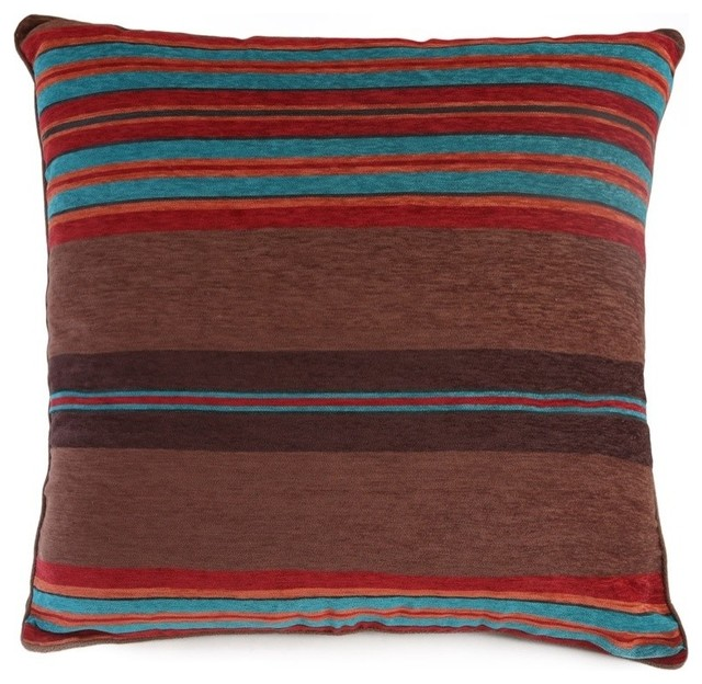 Southwestern Pillow Shams : Canyon View Euro Sham - Southwestern - Pillowcases And Shams - by Carstens