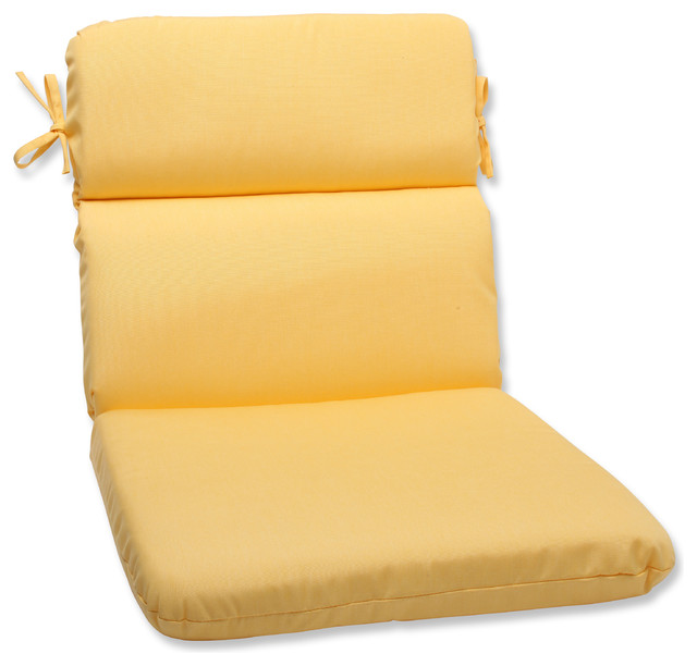 Rounded Corners Chair Cushion with Sunbrella Fabric