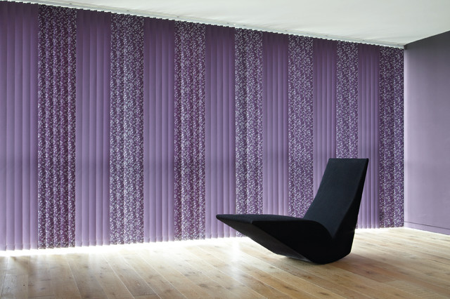 Vertical Blinds Modern Vertical Blinds Other Metro