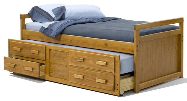 Twin bed with trundle contemporary kids beds