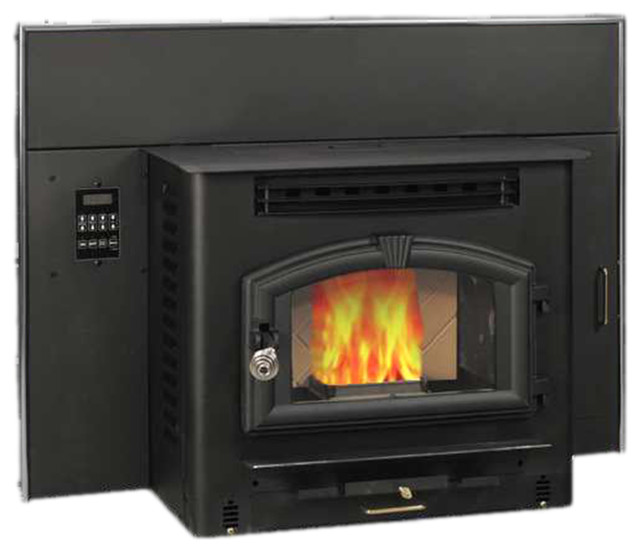 Insert Multi-Fuel Stove - Traditional - Indoor Fireplaces - by US Stove
