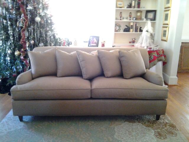 Custom Upholstery Furniture Modern Sofas New York By Aurora Upholster