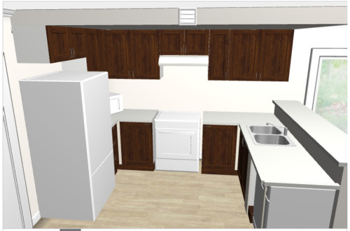 Kitchen layout review needed - kitchen renovation continues...