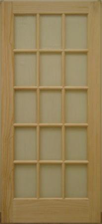 Interior french door 15 lite contemporary interior for 15 lite interior french door