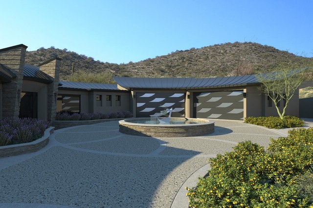 Eagles nest home contemporary phoenix by tsontakis for Eagle nest home designs
