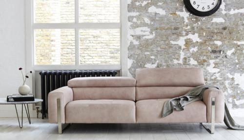 Lorena Leather Sofa
