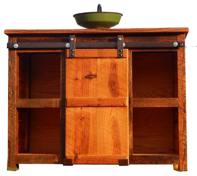 Barn Door Vanity By The Rusted Nail Rustic Bathroom Vanities And Sink Consoles By The