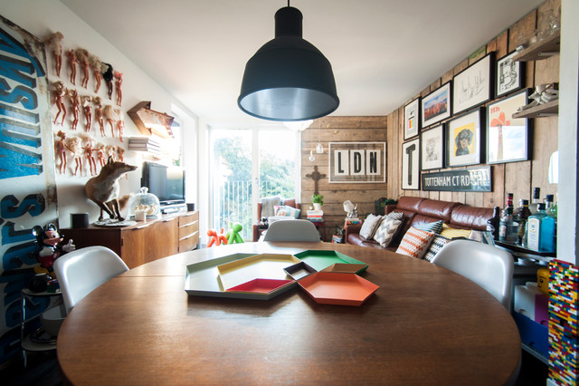 East London Flat - Eclectic - Kitchen - london - by Amelia Hallsworth ...