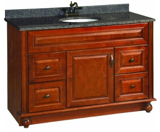 48 by 21 traditional bathroom vanity units and sink cabinets