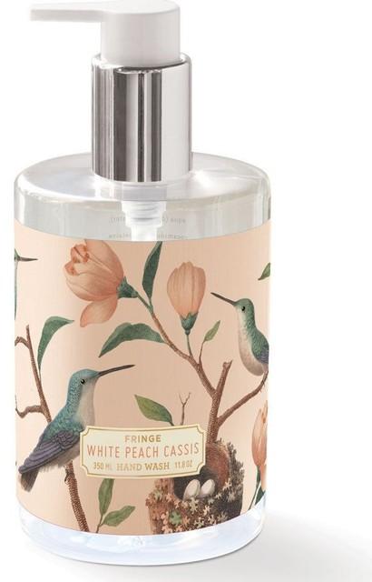 Fringe studio hand wash contemporary bathroom for Peach bathroom accessories