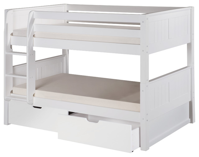 Image Result For Spindle Bed White Twin Over Full Bunk Bed With Stairs Twin Full
