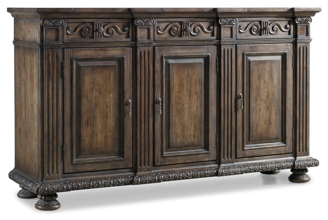 "Hooker Rhapsody 72"" Credenza - Traditional - Accent Chests And Cabinets - by Bedroom Furniture ..."