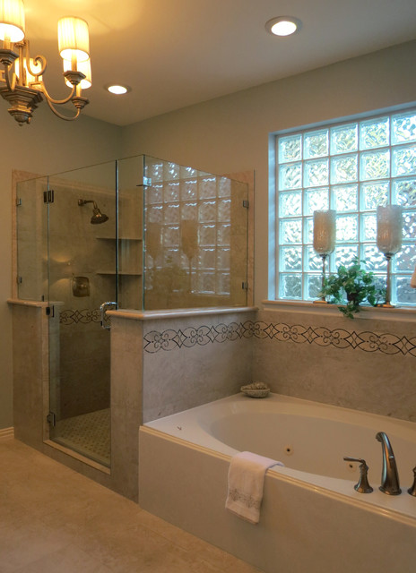 Master bathroom updates houston di the designers niche for Updated master bathrooms