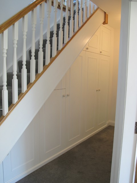 Understairs Storage  Traditional  Other  by Michael Halewood Furniture - Kitchen Cabinet Carcases