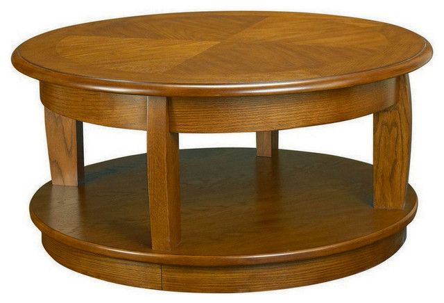 Hammary Ascend Round Lift Top Cocktail Table Traditional Coffee Tables By Beyond Stores