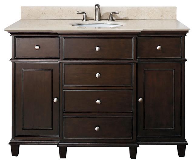 classic bathroom vanities walnut finish traditional bathroom vanities