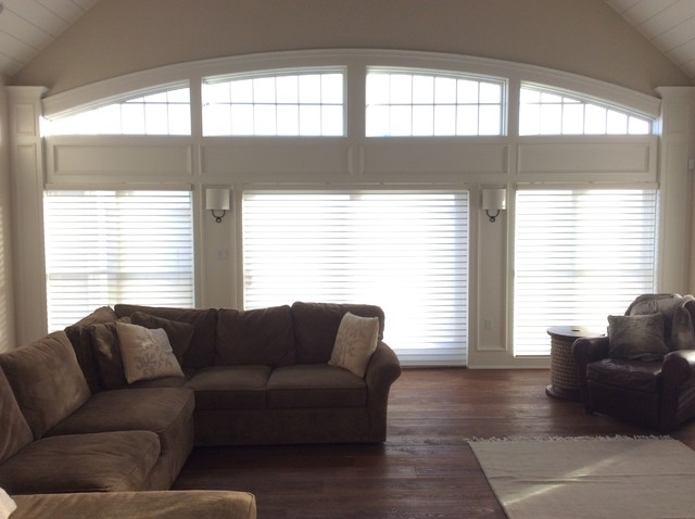 Motorized Window Treatments Contemporary Living Room By ASAP Blinds