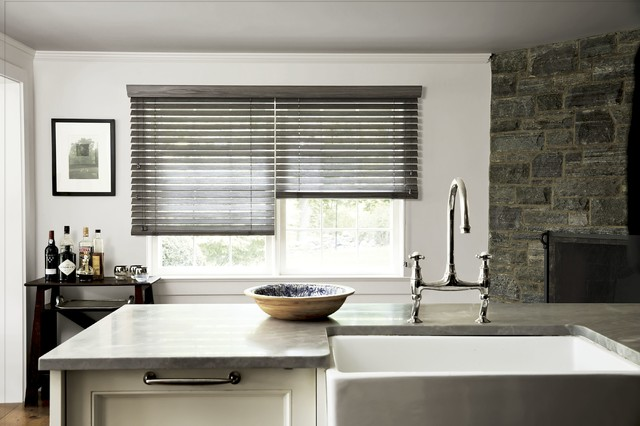 Smith and noble specialty finish wood blinds traditional for Smith and noble shades