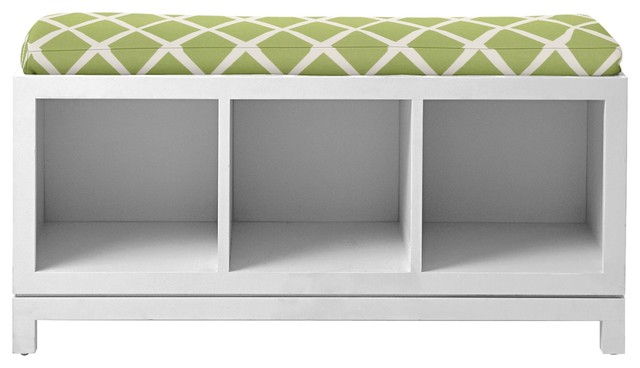 Campaign Storage Bench Contemporary Accent amp Benches By