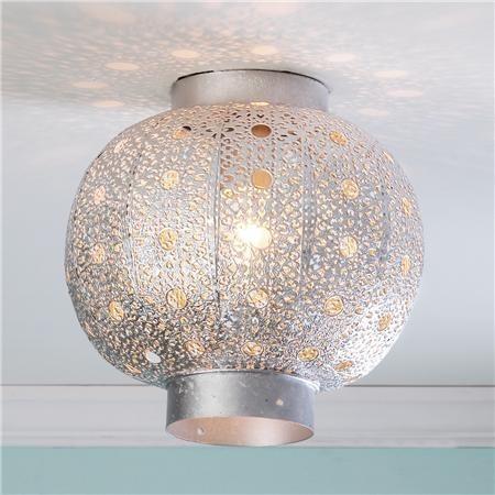 Moroccan Lamp Shade: Moroccan Lamp Shades: Moroccan Lattice Drum Table Lamp Shade Source.  Ceiling Globe,Lighting,Lighting