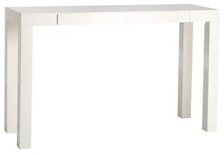 Parson 39 s console white moderno tavolini laterali di west elm - West elm parsons console ...