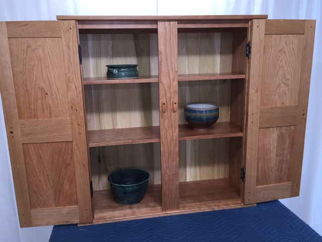 Shaker Wall Cupboard - Traditional - Pantry Cabinets - by Shaker Fine ...