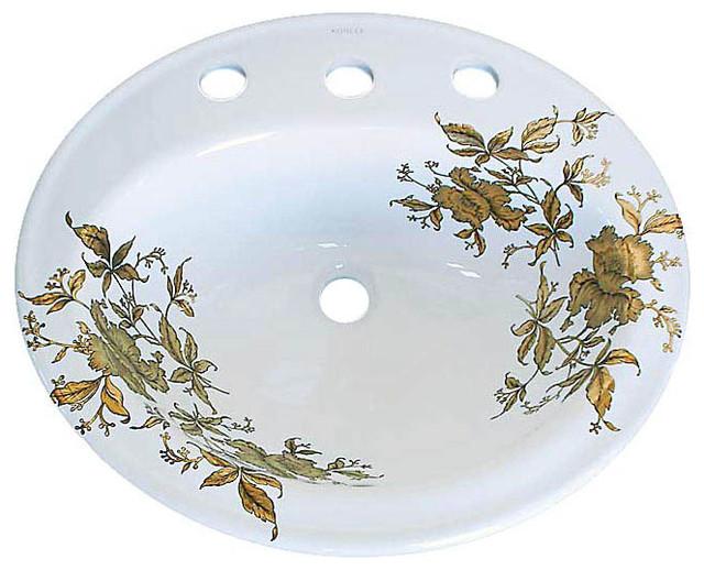 Lavabos Para Baño Kohler: – Lavabos para el baño – las vegas – de Decorated Porcelain Company