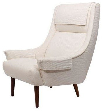 Danish lounge chair by selig modern armchairs and accent chairs