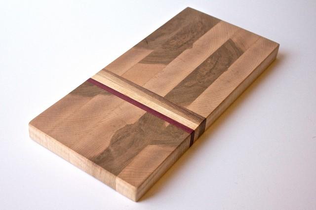Small Hard Maple End Grain Cutting Board Modern