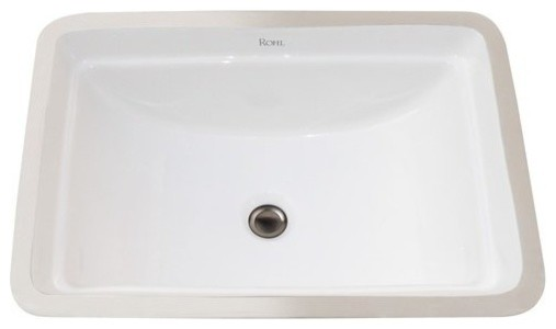 Long Undermount Bathroom Sink : ... FE2380 20