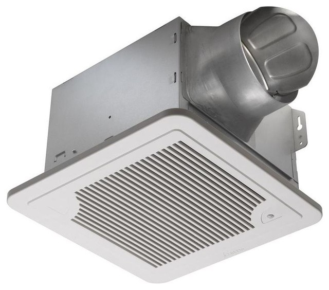 Smart 130 CFM Ceiling Exhaust Fan - Traditional - Bathroom Exhaust Fans - by Amplified E-Store