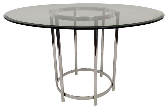 Modern Ringo Round Glass Dining Table Modern Dining  : modern dining tables from www.houzz.com size 640 x 416 jpeg 29kB