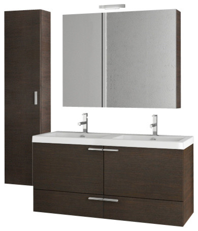 47 inch wenge bathroom vanity set modern bathroom vanities and sink